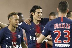 Cavani lập hat-trick, PSG đè bẹp Monaco 4 - 0