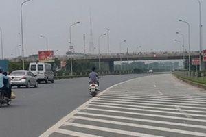 Yêu cầu xử lý nghiêm môtô-xe máy đi vào đại lộ Thăng Long
