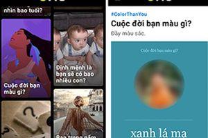 Nguy cơ mất tài khoản Facebook vì trò chơi 'Cuộc sống bạn màu gì'