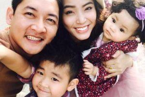 Hơn 1 năm cưới, Hải Băng mang bầu lần 3 khi mới sinh con 3 tháng