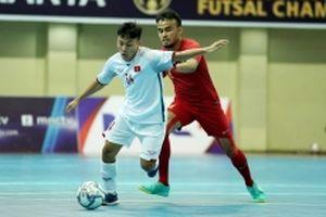 Futsal Việt Nam xếp hạng tư Giải Đông - Nam Á