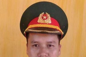 Hành động đẹp của Trung úy QNCN Vũ Tất Thành