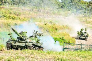 Quân đoàn 3 tổ chức diễn tập bắn đạn thật
