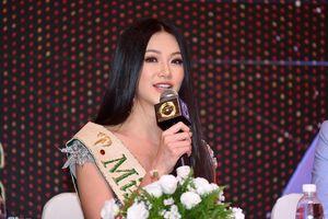 Hoa hậu Trái đất mong mọi người chung tay bảo vệ môi trường