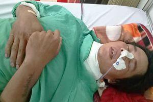 Thanh niên nghèo chạy Grab bị cướp tấn công, không tiền chữa trị