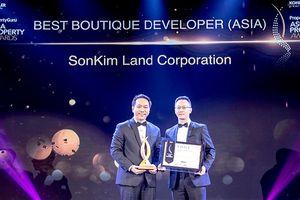SonKim Land nhận giải 'Best Boutique Developer' tại lễ trao Giải thưởng Bất động sản châu Á 2018
