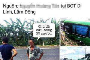 Bịa chuyện tai nạn giao thông, tài khoản facebook bị điều tra