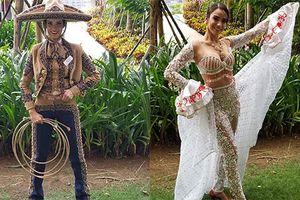 Soi trang phục ấn tượng dàn đối thủ của Trần Tiểu Vy