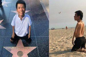 'Nghệ sĩ Việt đầu tiên được vinh danh trên Đại lộ Danh Vọng' chỉ là tin giả