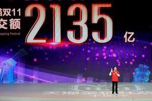 Doanh thu Alibaba đạt mức kỷ lục trong ngày Lễ độc thân