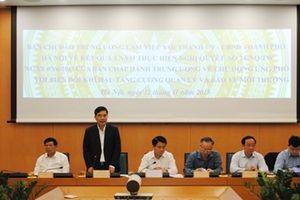 Hà Nội: Chủ động ứng phó với biến đổi khí hậu, tăng cường quản lý tài nguyên và bảo vệ môi trường