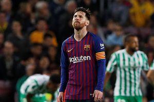 Messi trở lại với cú đúp nhưng Barcelona vẫn phải nhận thất bại