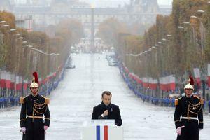 100 năm sau Thế chiến I, Tổng thống Macron cảnh báo chủ nghĩa dân tộc