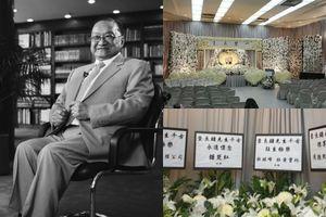 Jack Ma, Lưu Đức Hoa gửi vòng hoa viếng nhà văn Kim Dung
