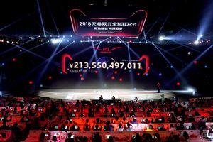 Alibaba đạt doanh thu kỷ lục trong 'Ngày độc thân'