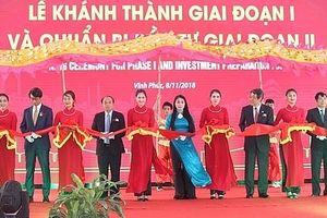 Khánh thành giai đoạn I, KCN Thăng Long, thu hút ngành công nghiệp không gây ô nhiễm