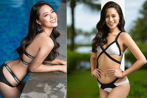 'Người đẹp biển' Bảo Châu khoe ba vòng bốc lửa trên biển Đà Nẵng