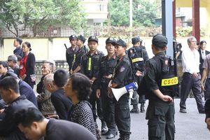 Hàng trăm cán bộ, chiến sĩ công an bảo đảm an ninh phiên xử 'thế kỷ'