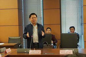 Bộ trưởng GTVT Nguyễn Văn Thể: Chúng ta có nhiều bài học 'xương máu'
