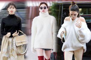 Thời trang Thu - Đông 2018: Những kiểu áo len không thể thiếu trong mùa đông năm nay