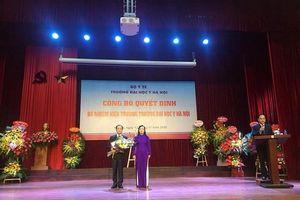 Bộ Y tế bổ nhiệm Hiệu trưởng Trường Đại học Y Hà Nội