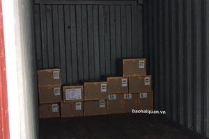 Rút ruột container giày xuất khẩu