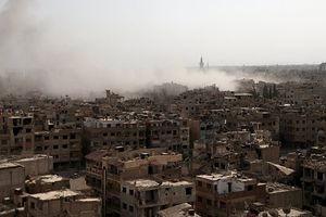 Liên minh không kích Syria: 2 trẻ em và 2 phụ nữ thiệt mạng