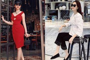 Angela Phương Trinh hóa thân thành quý cô sang chảnh gợi cảm, Hoa hậu Thu Thảo thanh lịch khi diện đồ tối giản