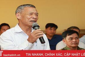 Cử tri Sơn Long đề nghị có chính sách thu hút doanh nghiệp đầu tư trên địa bàn