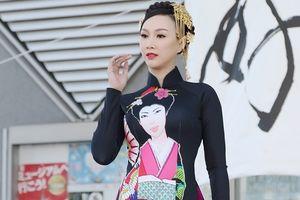 Giao lưu văn hóa Việt Nhật: Hoa hậu Paris Vũ làm đại sứ Áo dài