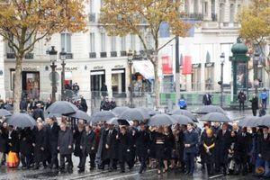 Hơn 70 nhà lãnh đạo các nước kỷ niệm kết thúc Thế chiến thứ nhất