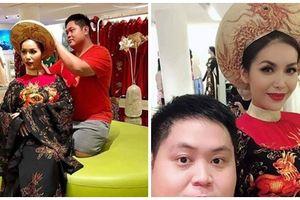 Lộ ảnh mặc quốc phục dự thi Miss Supranational 2018, Minh Tú bị chê 'già như bà ngoại đi tế Tổ'