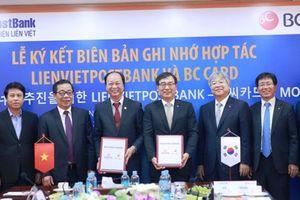 LienVietPostBank và BC Card hợp tác phát hành thẻ thông minh