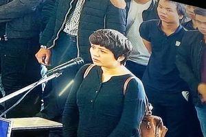 Xét xử ông Phan Văn Vĩnh: Những bóng hồng 'e ấp' ngày hầu tòa