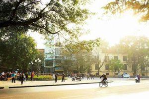 Hà Nội và các tỉnh miền Bắc chấm dứt cảnh mưa lạnh, ngày hửng nắng