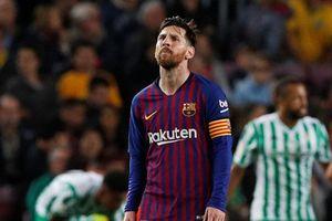 Messi lập cú đúp, Barca vẫn thua sốc trên sân nhà