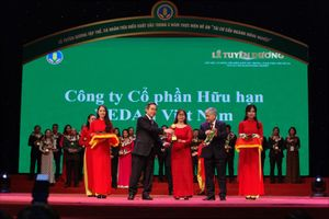 Vedan Việt Nam lần thứ hai nhận Giải thưởng Bông lúa vàng