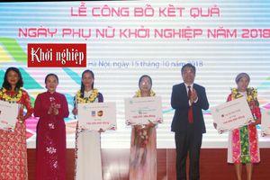 Hội LHPN Việt Nam gửi thư cảm ơn nhà tài trợ chuỗi hoạt động Ngày hội Phụ nữ khởi nghiệp 2018
