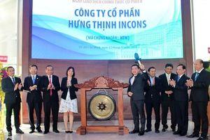 Cổ phiếu Hưng Thịnh Incons 'tím rịm' ngày chào sàn, vốn hóa đạt gần 700 tỷ đồng