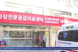 Đại diện ĐSQ Việt Nam thăm hỏi lao động bị thương trong vụ nổ ở Hàn Quốc