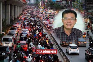 TS. Lương Hoài Nam: Ủng hộ thu phí ô tô vào nội đô, loại bỏ hoàn toàn xe máy sau 10 năm nữa