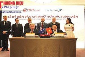 T&T Group 'bắt tay' với Hiệp hội DN Hunternet, Australia