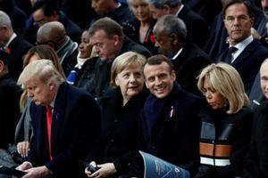 Ông Trump bình thản khi Tổng thống Pháp lên án chủ nghĩa dân tộc