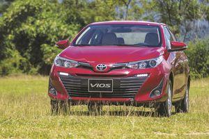 Toyota Vios trở lại đường đua, doanh số Toyota tăng đột biến trong tháng 10/2018