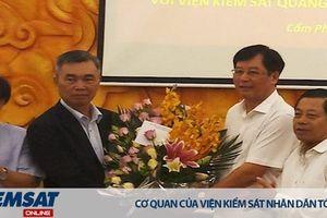 VKSND tối cao gặp mặt Đoàn cán bộ học tập và thi đấu thể thao với Viện kiểm sát Quảng Tây – Trung Quốc