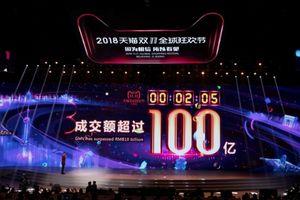 Alibaba lập kỷ lục trong ngày lễ Độc thân 2018