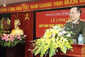 Công bố thành lập Đảng bộ Cục Đào tạo (Bộ Công an)