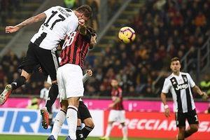 Ronaldo ghi bàn, Juventus hạ đẹp Milan