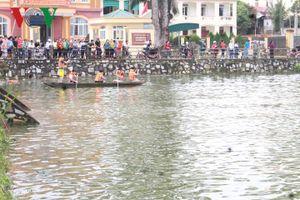 Hàng trăm người tìm kiếm nạn nhân mất tích ở hồ Thung Mây, Nghệ An