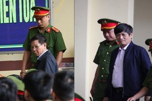 2 cựu tướng công an Phan Văn Vĩnh, Nguyễn Thanh Hóa điềm tĩnh trong phiên tòa sáng nay